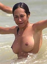 Hot things filmed at nude beach