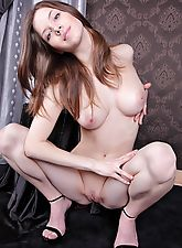 nubile nudes, Anita is a spunky girl with bright blue eyes and powder white skin.